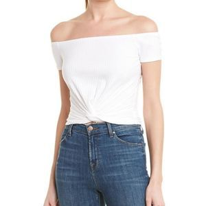 Sage The Label Women's Lets Go Top white NWT